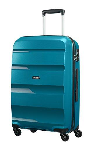 41ZmwInZVkL - American Tourister Bon Air Spinner M Maletas y trolleys, 66 cm, 53 L, Azul (Azul)
