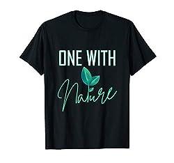 One with Nature für Frauen und Männer - Anti-Klimawandel T-Shirt