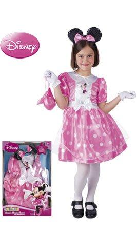 Imagen de rubie's  disfraz de minnie mouse en caja con accesorios, color rosa 884983 m