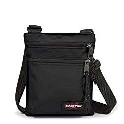 Eastpak Rusher Sac Bandoulière, 23 cm, Noir (Black)