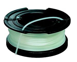 Black + Decker Vollautomatische Einzelfadenspule, 10 Meter Länge, Fadendurchmesser 1.5mm, für Rasentrimmer, A6481