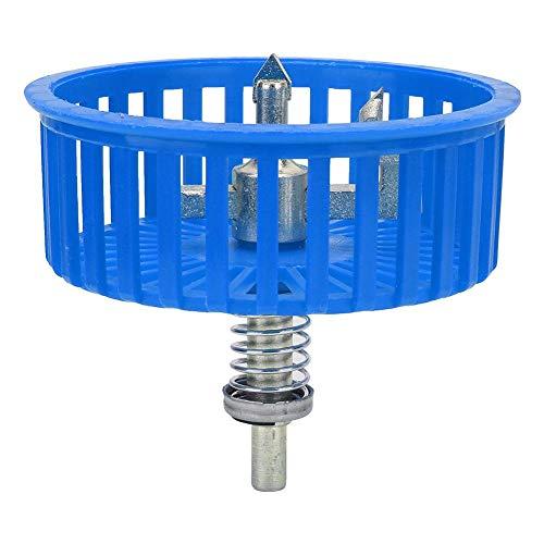 20~100mm Einstellbare Kreis Fliesenschneider mit Schild Keramikfliesen Bohrwerkzeug für Holzplatte Kunststoff Glas(Blau)