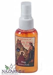 Mirra Myrrhe huile spray biblique Parfums fait main en terre Sainte Jérusalem