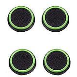 Canamite Lot de 4couvercles de capuchon de joystick à pouce pour PS4PS3Xbox One Xbox One S et Xbox 360, vert gazon