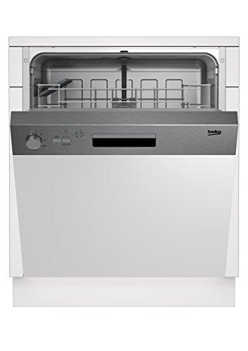 Beko DSN04211X Geschirrspüler/A+ / 290 L  / Halbe Beladung Zusatzfunktion / Intensiv-Reinigungsmodus / Watersafe+ / AquaFlex / Clean&Shine