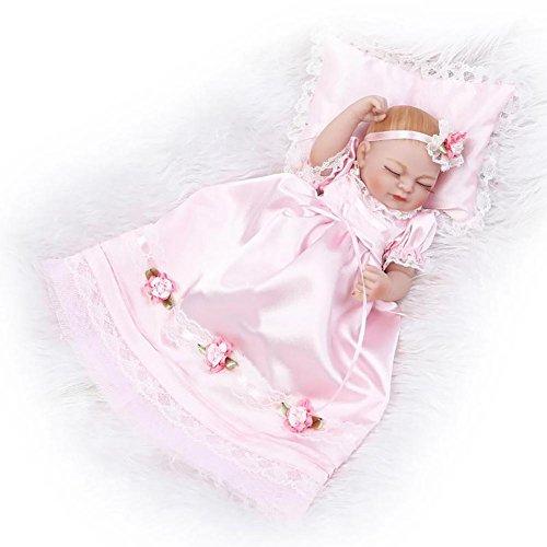 bulary lebensechte Puppe Mini Lovely Simuliert Puppe Rolle spielen Spielzeug Dreier-Set Baby Silikon Puppe Spielzeug (Lebensechte Baby-puppen Für Erwachsene)