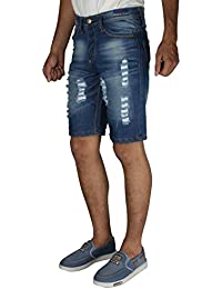 Greentree Mens Denim Shorts Cotton Shorts Jeans Shorts MASR96