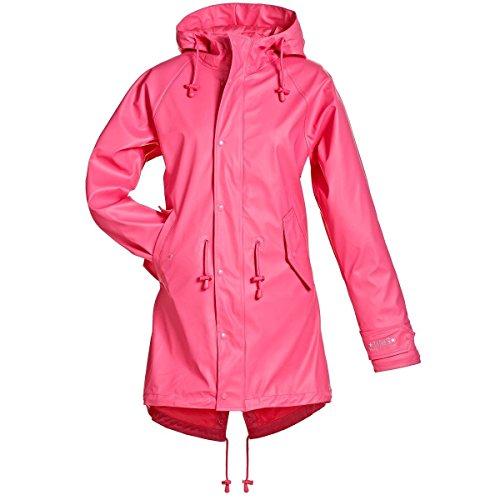 BMS Regenmantel Friese Regenjacke - 100% wasserdicht - pink Gr.42