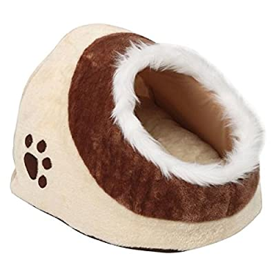 Popamazing Igloo Pet Bed for Small Dog Cat Kitten