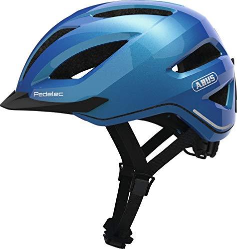 Abus City Touren E-Bike Fahrradhelm PEDELEC 1.1 Steel-Blue 52-57 cm