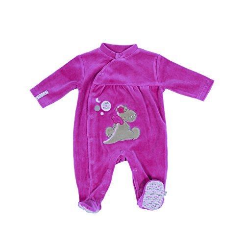 Noukies BB1260131 Pyjama, Rose (Pink), 56 Bébé Fille