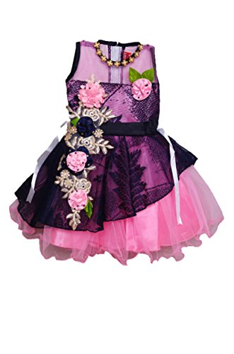 baby girls party wear frocks dress with soft net with front layer...