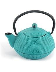Théière en fonte de 0,5 l, turquoise