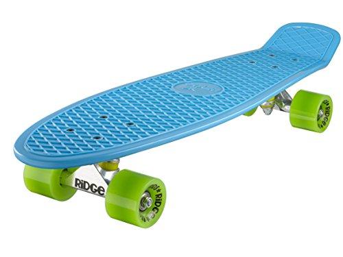 Ridge Skateboard Big Brother Nickel 69 cm Mini Cruiser, blau/grün - Board-lager Penny