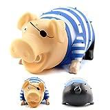 Tofree Pet Toys Quietschendes Schweinchen für Hunde, mit Quietschelement, Kunststoff Siehe Abbildung