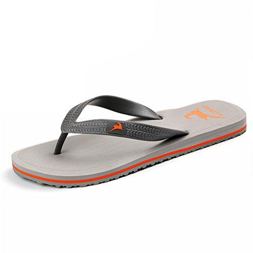 flops/Anti-dérapant plats sandales hommes/sandales d'été B