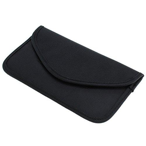 Rydges Secure Bag Privacy Case für Smartphones Handytasche gegen Handy Ortung, Abhören & Spionage sowohl geeignet für Autoschlüssel mit dem Keyless-Go-System zum Schutz gegen Autodiebstahl (Größe XXL) (5,4 - 5,8 Zoll)