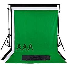 Phot-R 2x2.26m regolabile di sostegno del contesto schermo Heavy Duty