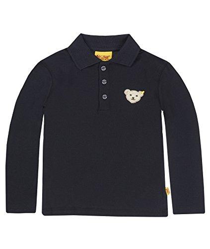 Steiff Unisex - Baby Sweatshirt 0006831 Blau (Steiff marine) 86 (Marine-blau-t-shirt Klassiker)