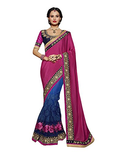 Sareeshop Georgette Saree With Blouse Piece (S2116_Multi_Free Size)