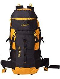 F Gear Drift 40 Liter Rucksack (Black, Yellow)