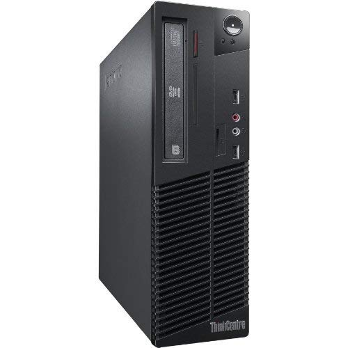 Lenovo ThinkCentre M92p SFF - Ordenador de sobremesa (Intel Core I5-3470 3.2 GHz, 8GB de RAM, Disco HDD 500GB, Lector DVD, Windows 10 Pro) Negro (Reacondicionado Certificado)