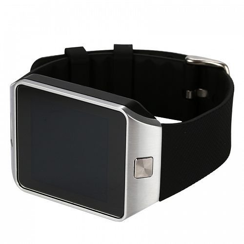 OPTA SW-005(Black/Silver) Bluetooth Smart Watch Phone With Camera and Sim Card Support With Apps like Facebook and WhatsApp Touch Screen Multilanguage Android/IOS Mobile Phone Wrist Watch Phone with activity trackers and fitness band features compatible with Samsung IPhone HTC Moto Intex Vivo Mi One Plus and many others! Launch Offer!!