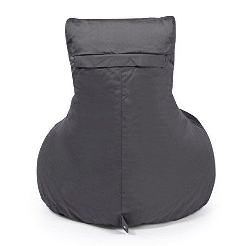 Sitzsack Outbag Slope Kollektion Plus in Anthrazit - 2
