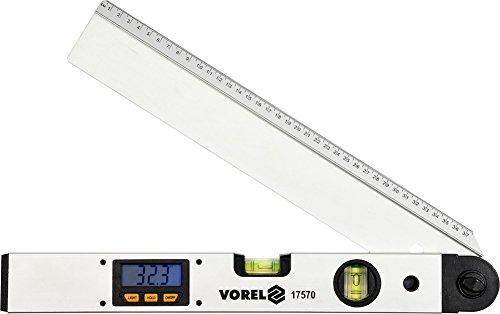 Digitaler LCD Winkelmesser mit Wasserwaage 400mm Gradmesser 0-230 Grad