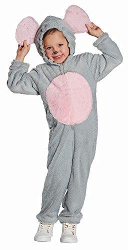 Kinder Kostüm Maus Mauskostüm Karneval Fasching Gr.116