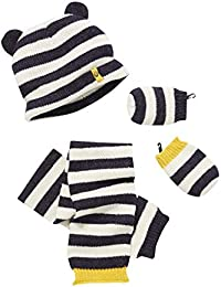 28dd6912bd42 VERTBAUDET Bonnet + écharpe + moufles bébé garçon ...