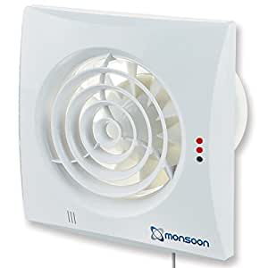National Ventilation Mon S100t Monsoon Silence Extractor