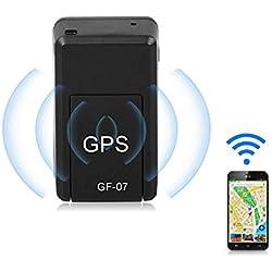 Simu US Mini traqueur de GPS, Dispositif de Piste en Temps réel magnétique de Voiture portative pour Le véhicule