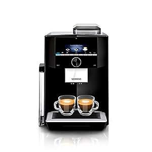 Siemens TI923509DE EQ.9 s300 Kaffeevollautomat (1500 Watt, maximales Aroma, vollautomatische Dampfreinigung, Speicherfunktion, sehr leise, iAroma) schwarz