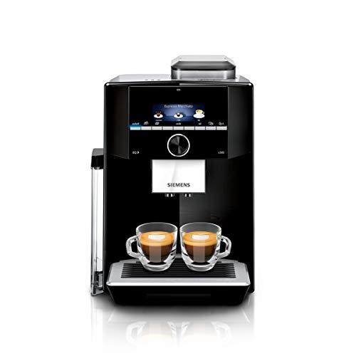 eq9 connect Siemens TI923509DE EQ.9 s300 Kaffeevollautomat, 1500 W, Keramikmahlwerk, 1 Bohnenbehälter, kleines TFT-Display, schwarz