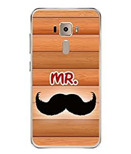 PrintVisa Handsome Man High Gloss Designer Back Case Cover for Asus Zenfone 3 ZE552KL (5 Inches)