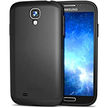 JETech® Súper Protectora Samsung Galaxy S4 Funda Caracasa Ultra Delgado Ajuste Case para Galaxy S IV i9500 (Negro) - 3000