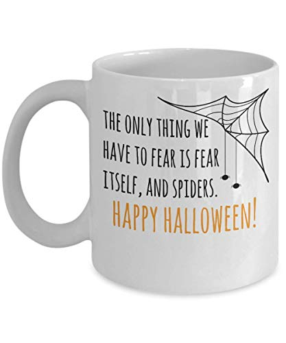 Happy Halloween Spiders Web Trick or Treat Costume Scary Party Souvenir Giveaways Ideas Candy Holder Coffee Mug Souvenir Giveaways Tea Cup 18/15 J
