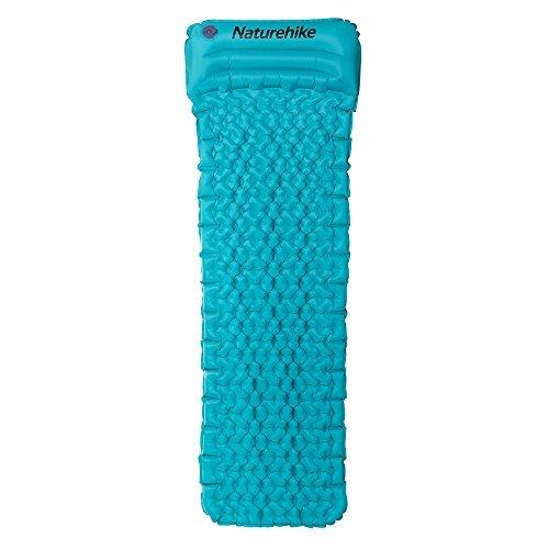 Naturehike Almohadillas inflables para mochilear - Almohadillas de aire para acampar con...