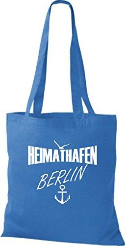 Shirtstown stoffbeutell port d'attache berlin plusieurs couleurs Bleu - Bleu roi