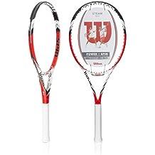 Wilson Blade 105 S Steam - Raqueta de tenis (16/15) rojo rot/schwarz/weiß Talla:L2