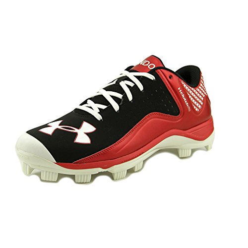 Under Armour UA Team Yard Low TPU Synthétique Baskets Blk-Red-Wht