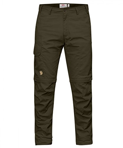 Fjällräven Herren Karl Pro Zip-Off Trousers Shorts Hose, Dark Olive, 52