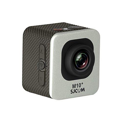 """SJCam M10 Plus (versión española) - Videocámara deportiva (WiFi integrado, LCD 1.5"""", 2k 2560x1440/30fps, sumergible hasta 30 m) color plata"""