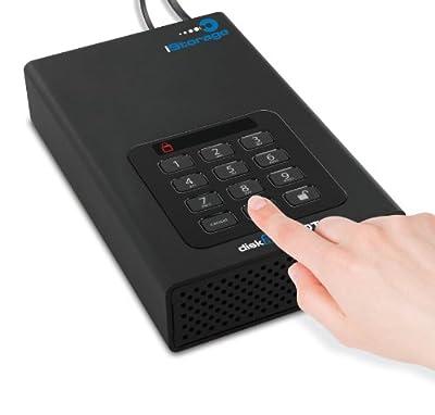 iStorage diskAshur 1TB DT PIN Activate 256-bit Hardware Encrypted USB 3.0 Hard Drive_Parent