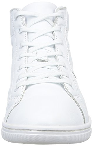 Aigle Yarden Time Mid, Baskets mode homme Blanc (White Ltr)