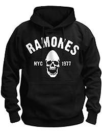 Ramones - Sudadera con capucha - Logotipo - para hombre