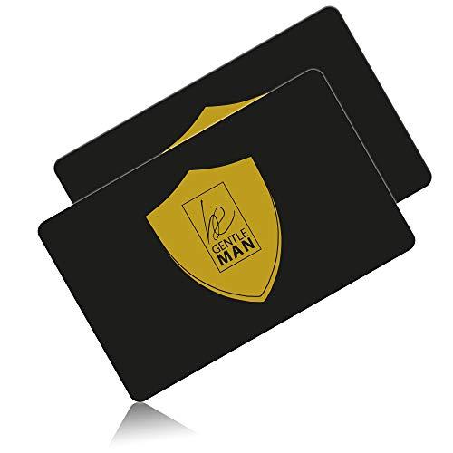 FC Schutzkarte im 2er-Set - Schützt Geldbörse vor Datendiebstahl - Keine lästige RFID Schutzhülle nötig für Kreditkarten, EC-Karten - Erlebe jetzt EIN neues Sicherheitsgefühl! ()