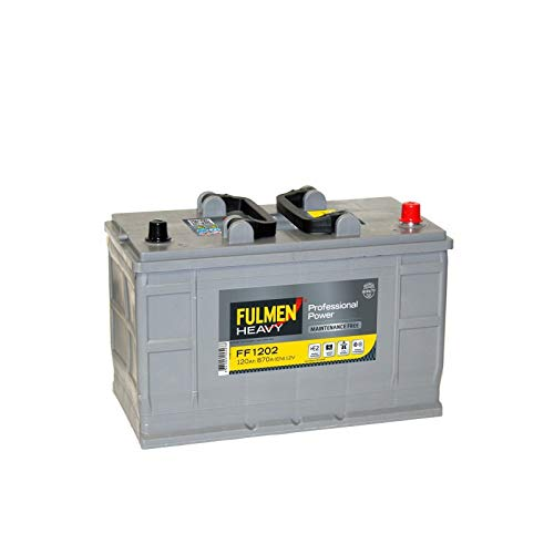Batterie démarrage fulmen professionnal power ff1202 12v 120ah 870a