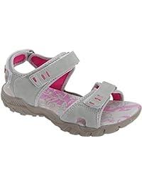 PDQ- Sandalias deportivas con tiras de velcro para mujer